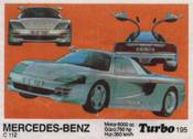 Вкладыш TURBO №195:MERCEDES-BENZ C112